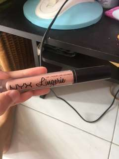 NYX LINGERIE lipcream (lipli) preloved