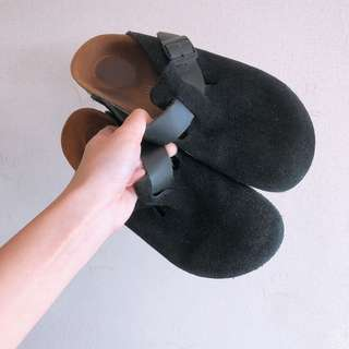 100% real Birkenstock包頭拖鞋