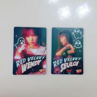 Red Velvet 夜光卡