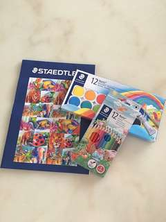 Staedtler Painting color & pencil color set