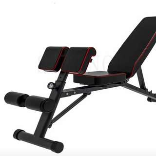 3 in 1 Multifunctional Roman Chair Dumbbell Bench Supine Board.