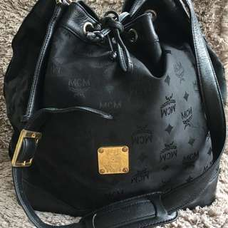 Authentic MCM Bucket bag