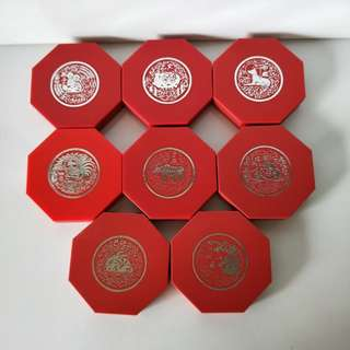 1993-2000 8 Cupro-Nickek Proof-Like Coin