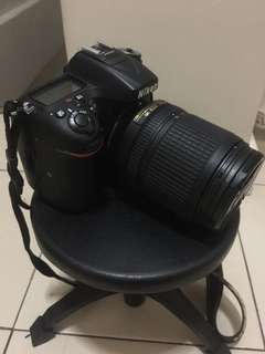 Nikon DSLR D7200 with Lens DX VR AF-S Nikkor 18-140mm