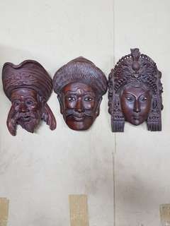 Wall Hanging Masks