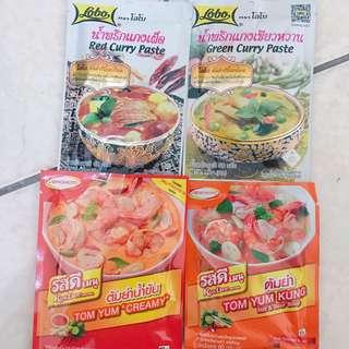 🚚 各式泰式料理醬包 泰國帶回🇹🇭