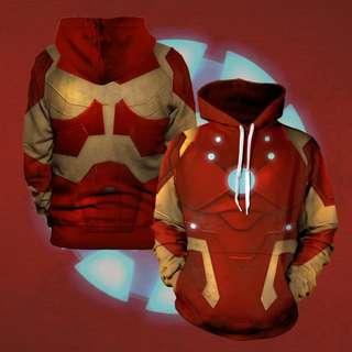 Marvel Iron man Unisex Hoodie Avengers Infinity War