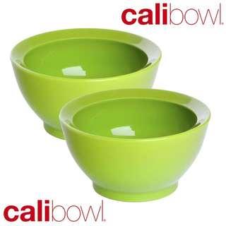 (MKstore) 美國入口 CALIBOWL 8OZ 專利防漏設計學習碗 綠色