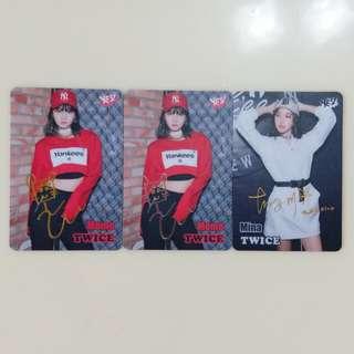 Twice 簽卡
