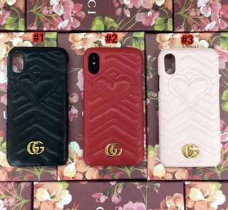 Gucci iPhone X cases