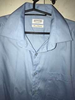 Arrow Light Blue Short-sleeved Polo