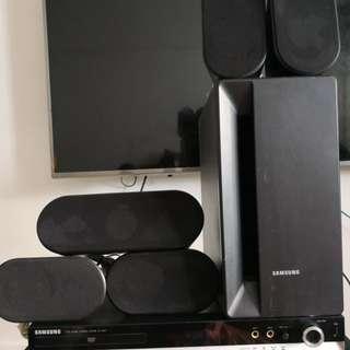 Samsung DVD home cinema system HT-X20