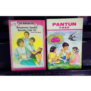 Reference Book -Pantun KBSR and Berpantun Sambil Teka Teki(2)