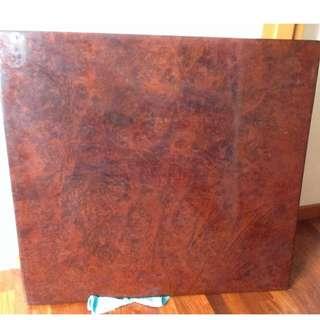 Very Old Cherry Wood Table Top. 百年樱木,独板,接近两寸厚!