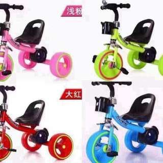 Children's tricycle music+LED