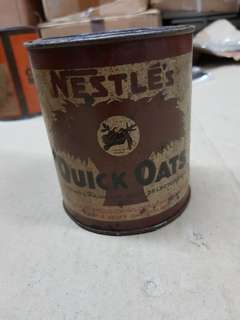 Nestle Quick Oats Tin