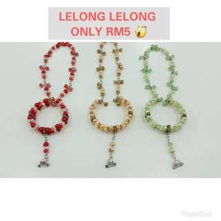 🔺 Lelong lelong handmade necklace