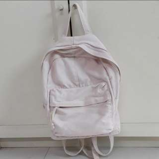 FLASH SALE Canvas Pink Backpack