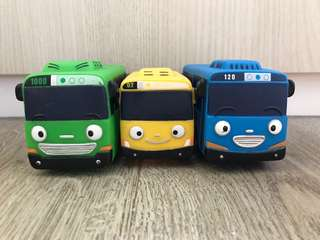 Tayo The Little Bus - Blue, Yellow & Green