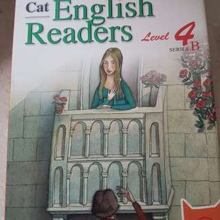 English story books with CD (level 4)