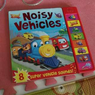 Noisy Vehicles book