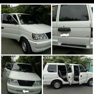 Van for rent (8-10seaters)