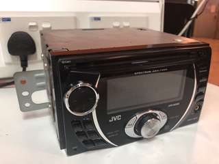 Car Radio JVC with MP3 , WMA , AUX used