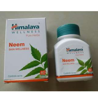 [36% OFF] Himalaya Herbals Neem 60s Capsules (for Acne, Allergies & Infections skin)