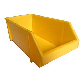 Multi Tool Box Plastic Storage Box Plastic Container Yellow (per pieces)