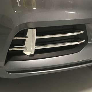 Audi A3 Front Fog Chrome Trim