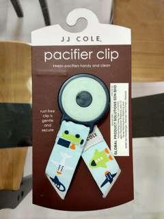 JJ Cole pacifier clip