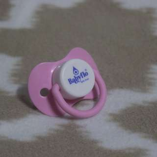 BabyFlo Pink Pacifier