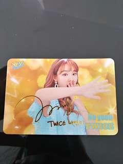 Twice 娜璉 Yes Card