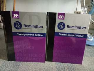 Remington Pharmacy Book