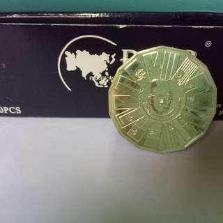 rm10 1976 issue 3rd malaysia plan--silver proof coin