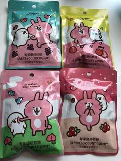 購自台灣 Kanahei  P助兔兔 乳酪軟糖