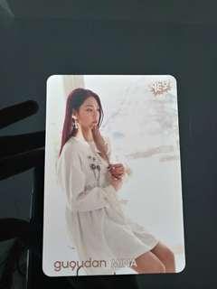 Gu9udan 美娜 Yes Card