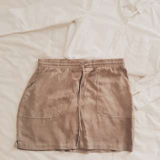 Cotton On Army Green Skirt