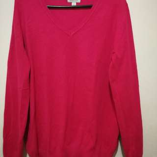 Bossini Pink Sweatshirt