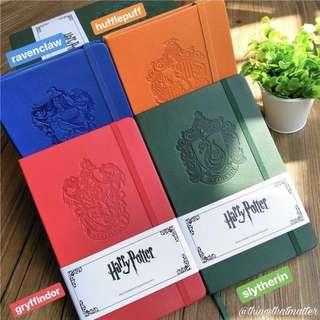 harry potter moleskin notebook