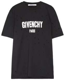 Givenchy distressed tee (sample piece)