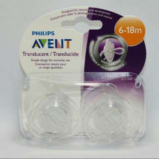 Avent Orthodontic Pacifiers 6-18months