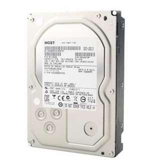 全新HGST Ultrastar 7K6000 (HUS726040ALE610) 4TB 7200 3.5吋企業級硬碟