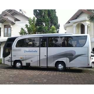 Sewa mobil wisata Medium Bus (27-32 seat) murah di Jakarta.