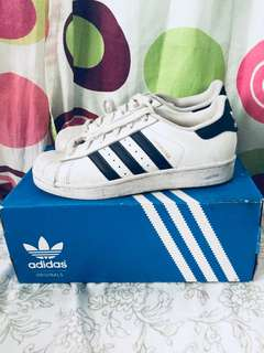 Authentic Adidas Superstar (black and white)