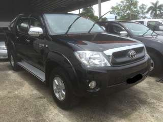 Toyota Hilux 2.5 At 2011 4x4