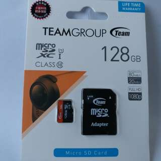 TEAM mirco SDXC 1  128GB