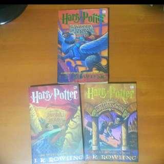 Buku harry potter 1-3