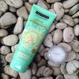 FREEMAN HONEYDEW + CHAMOMILE Overnight Cream Mask - share in jar 10 g