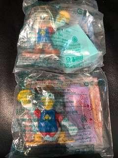 絕版-麥當勞 迪士尼 唐老鴨 米奇 2款 全新未開 2004年出品